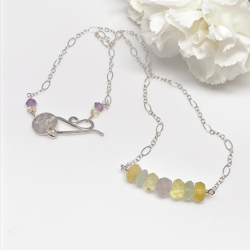 Fluorite-Collar-Necklace 562-4