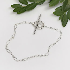 dewdrop toggle chain bracelet