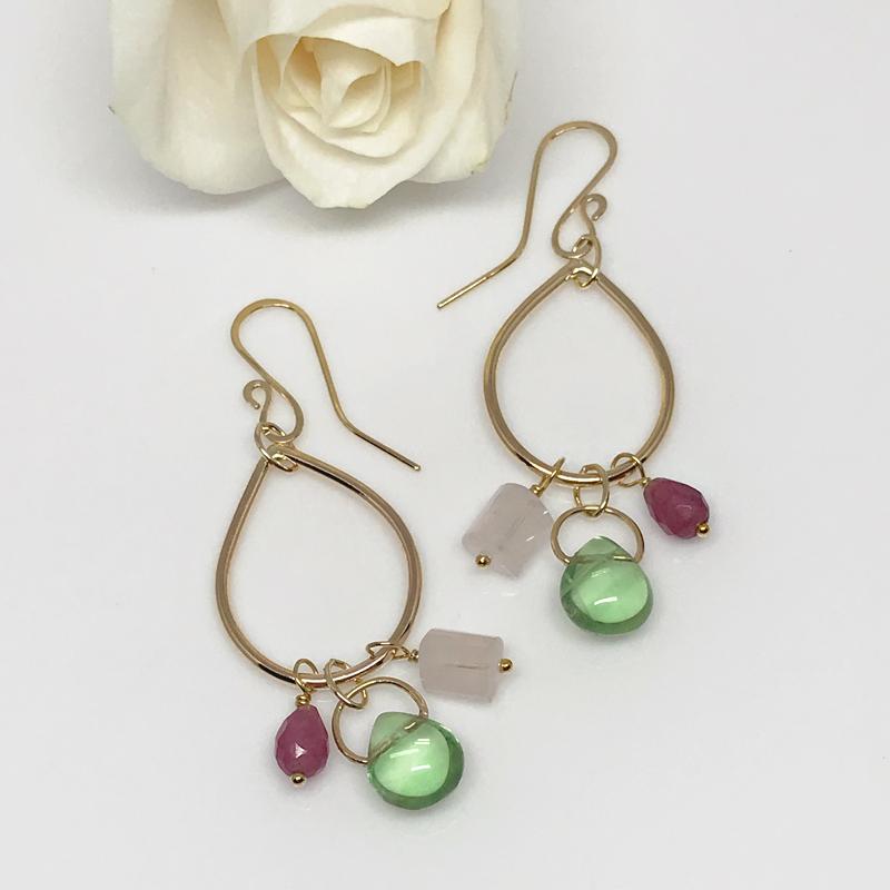 Gold-Dangle Earrings