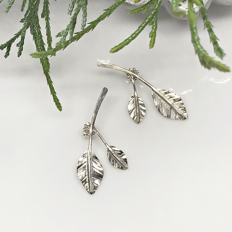 silverdoubleleafvineearrings-542-AS