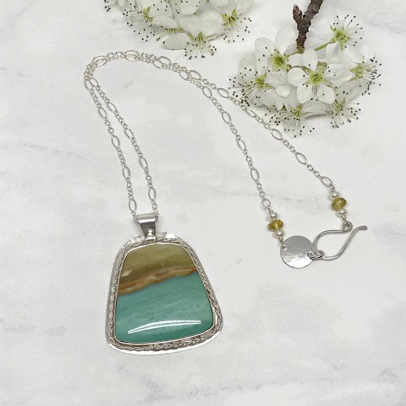 Petrified-Wood-Necklace 772-11