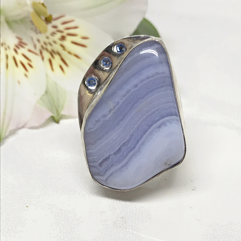 Blue-Lace-Agate-Ring 785-6