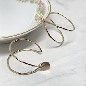 The Drew Hoop Earrings