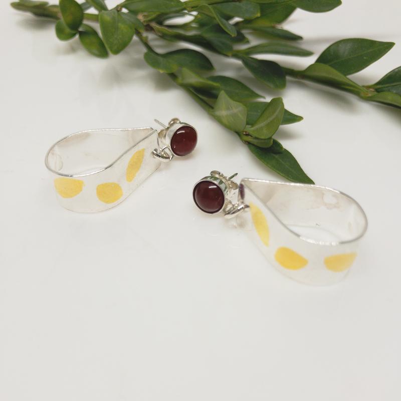 Carnelian-Ribbon-Earrings 800-8