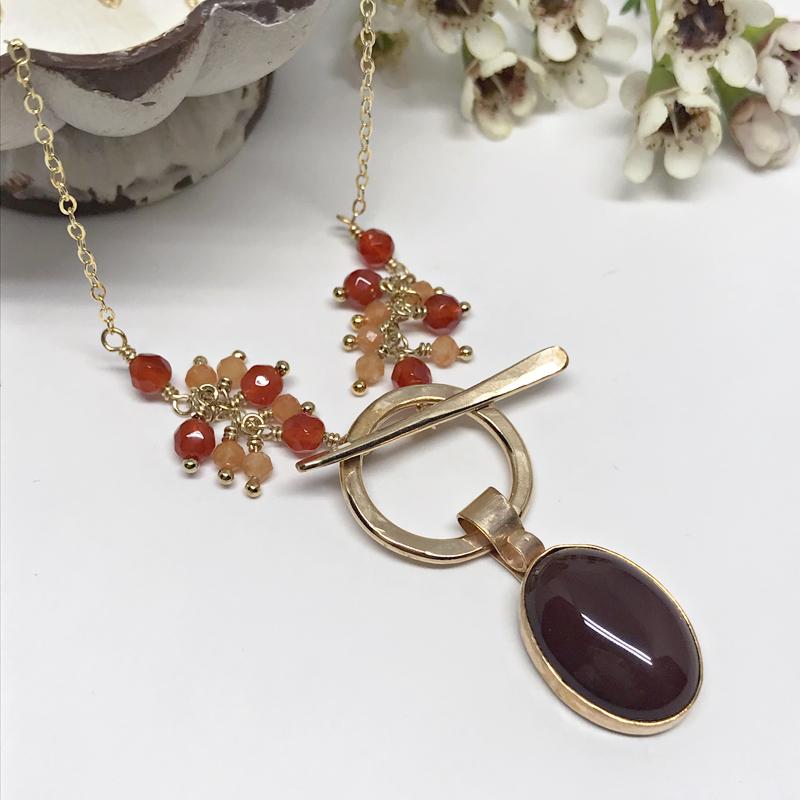 Carnelian-Pendant-Necklace-818-3