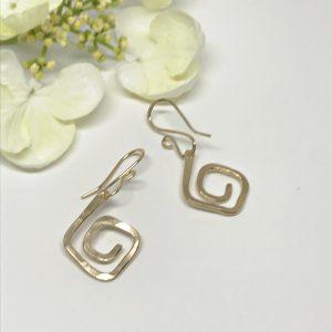 Gold-Swirl-Earrings
