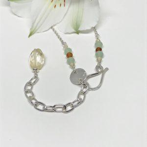 Gemstone-Pendant-Necklace