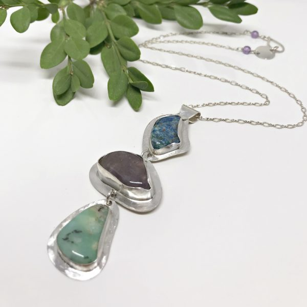 Gemstone-Necklace