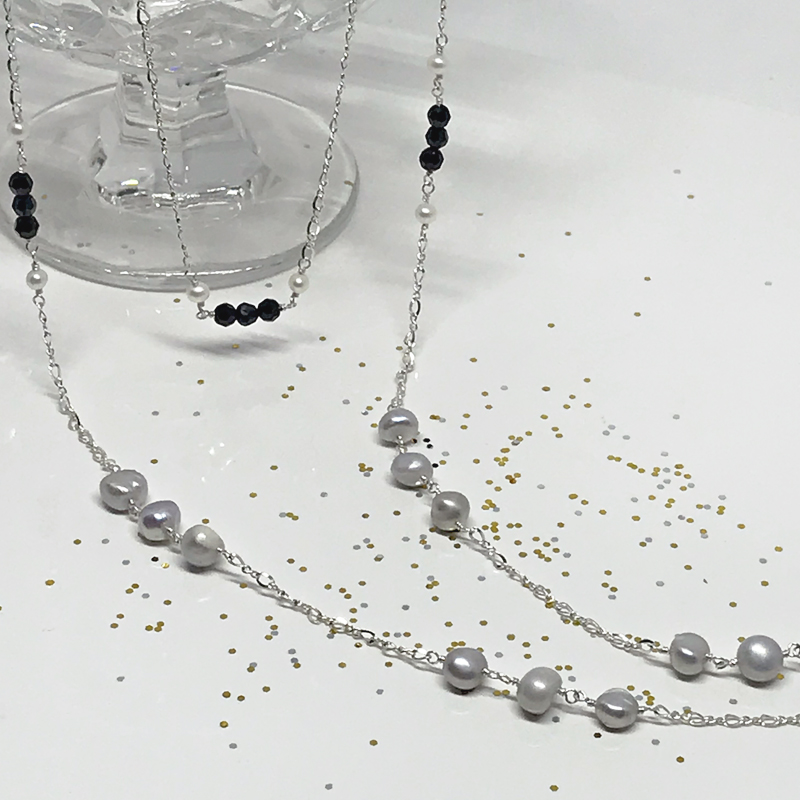 Silver-Necklace-Set-869-2-Holiday