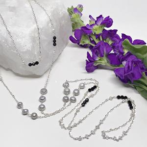 Silver-Necklace-Set