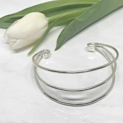 Silver-Wire-Cuff-Bracelet 733AS 500 px