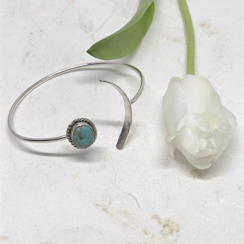 Turquoise Open Bracelet